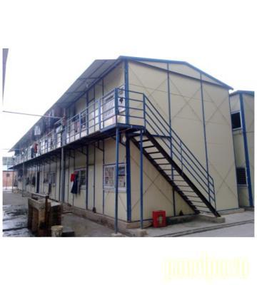 Cấu tạo nhà lắp ghép 2 tầng