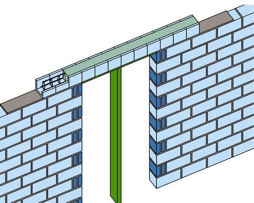 Gạch chữ U: Giải pháp mới dành cho tường xây bền vững