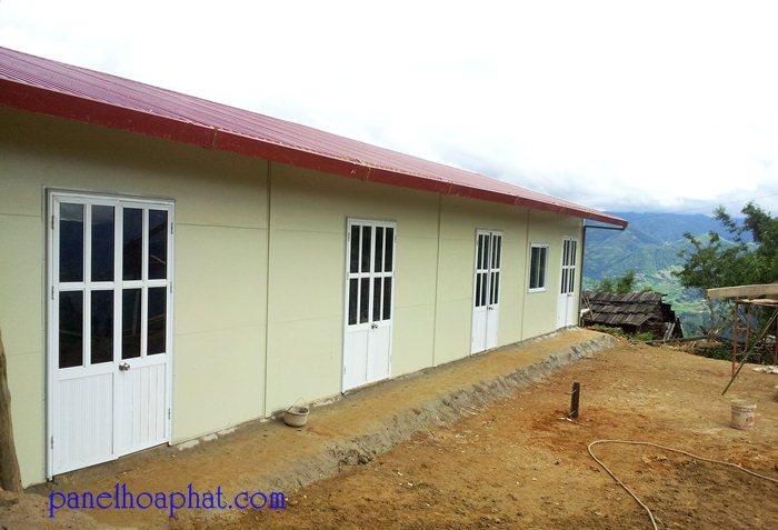 Thi công lắp đặt Trường học cấp 1 tại Páo Sơ Dào - Khao Mang - Thị Trấn Mù Cang Chải - Yên Bái